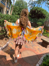 Load image into Gallery viewer, Wings!!!! Shibori or Upcycled Sari - Majestic Hudson Lifestyle Experiences