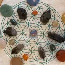 Load image into Gallery viewer, Crystal Grid Cloth - Majestic Hudson Lifestyle Experiences