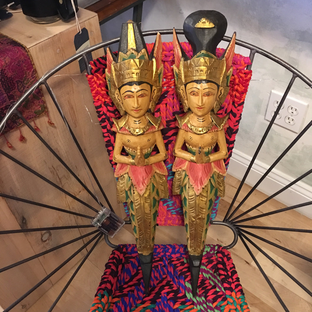 Thai Wooden Puppets - Majestic Hudson Lifestyle Experiences