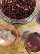 Load image into Gallery viewer, Organic Hibiscus Loose Flower Tea - Majestic Hudson Lifestyle Experiences