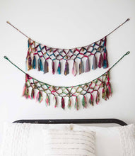 Load image into Gallery viewer, SARI AND SONG MACRAME GARLAND - Majestic Hudson Lifestyle Experiences