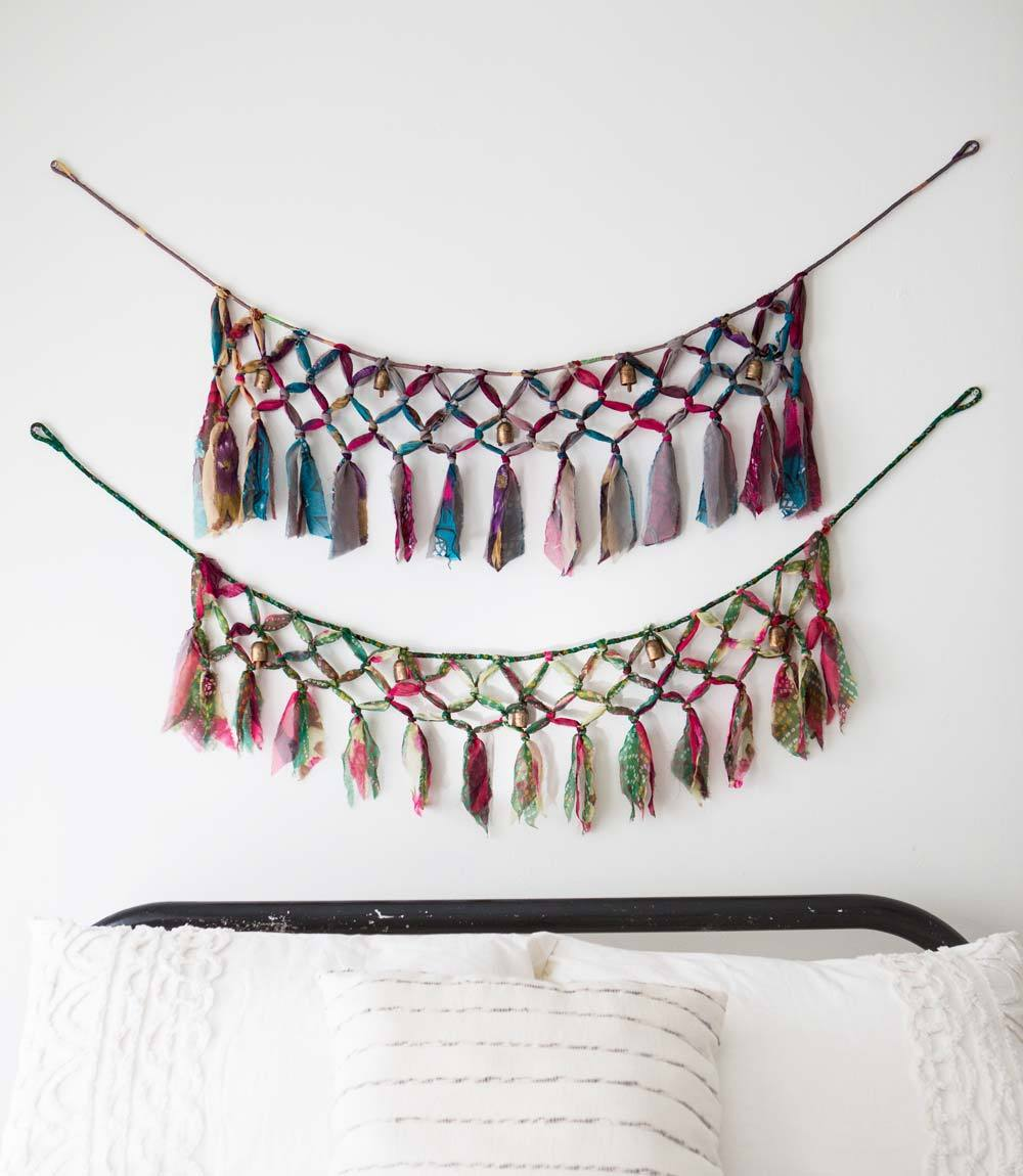 SARI AND SONG MACRAME GARLAND - Majestic Hudson Lifestyle Experiences