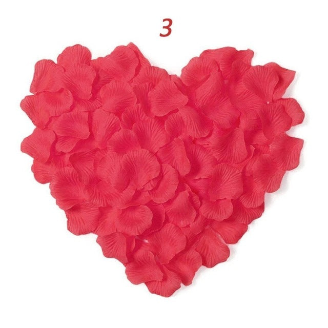 Artificial Rose Flower Petals - 1000 pcs/lot