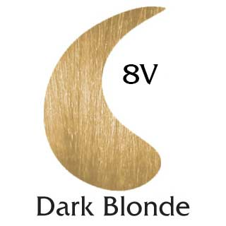Dark Blonde 8V ppd free hair color (2 oz color and 2 oz developer)