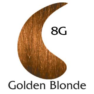 8G Golden Blonde , EcoColors Permanent Natural Base Hair Color, ppd free. - EcoColors Organics | Natural Hair Colors Kits