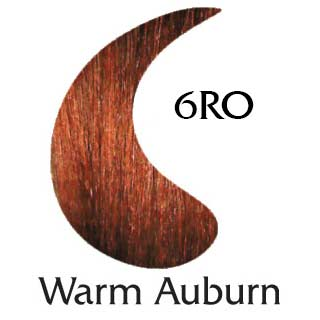 Warm Auburn 6RO ppd free hair color (2 oz color and 2 oz developer)