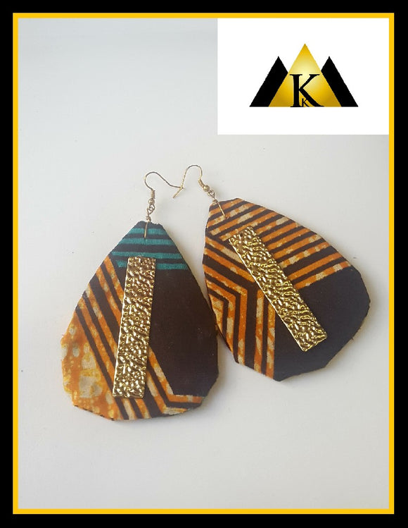 African style/Art deco earrings