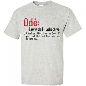 Ode Dictionary T-shirt