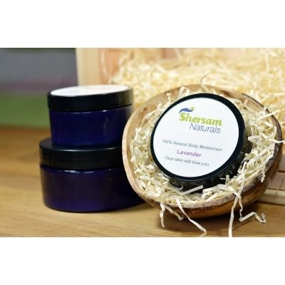 Body Moisturiser - 100% Natural With Lavender