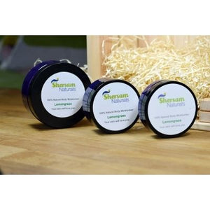 Body Moisturiser - 100% Natural With Lemongrass