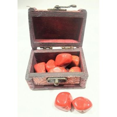 Red Jasper Tumbled crystal stone