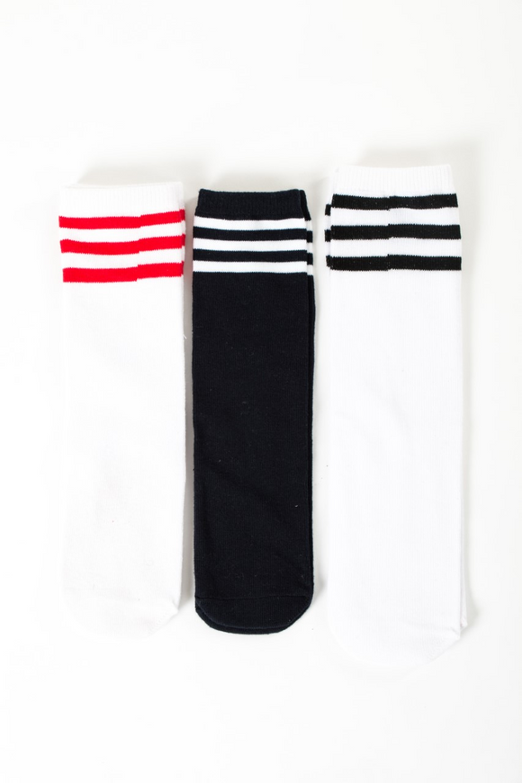 Sporty long socks