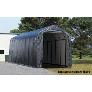 Shelter Logic Peak Style RV, Truck, and Camper Carport 15 x 20 - Covered Cars