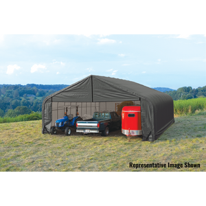 Shelter Logic Multiple Vehicle Peak Style Carport 28 x 20 - Covered Cars