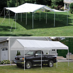 Shelter Logic Carport and Event Tent 10 x 20 - Covered Cars
