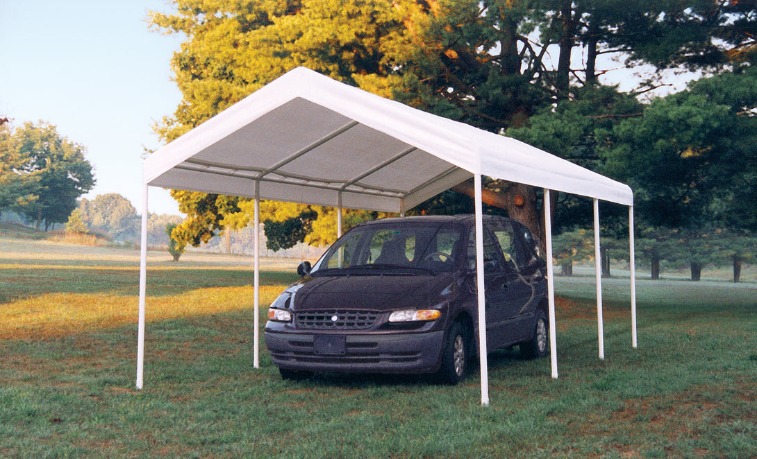 Shelter Logic Heavy Duty Carport 10 x 20 - Covered Cars