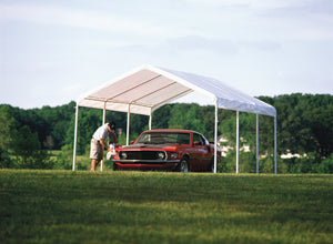 Shelter Logic Portable Carport and Shelter 12 x 20 - Covered Cars