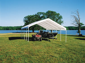 Shelter Logic Multiple Car Carport and Event Canopy 18 x 30 - Covered Cars