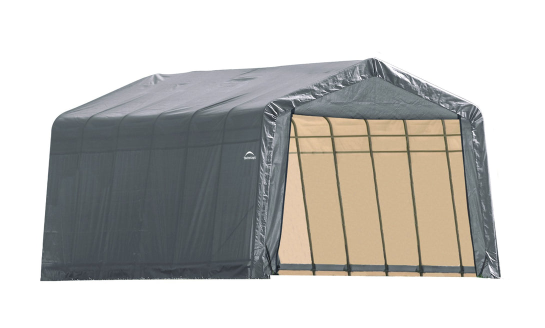 Shelter Logic Peak Style Carport 12 x 24 - Covered Cars