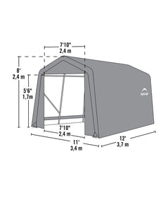 Shelter Logic Peak Style Shelter and Instant Garage 10 x 12 - Covered Cars
