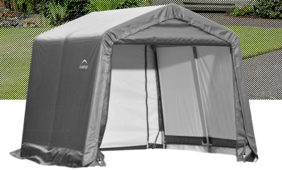 Shelter Logic Peak Style Carport and Instant Garage 11 x 16 - Covered Cars