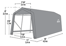 Shelter Logic Peak Style Carport and Instant Garage 10 x 16 - Covered Cars