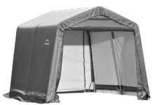 Shelter Logic Peak Style Carport and Instant Garage 11 x 12 - Covered Cars