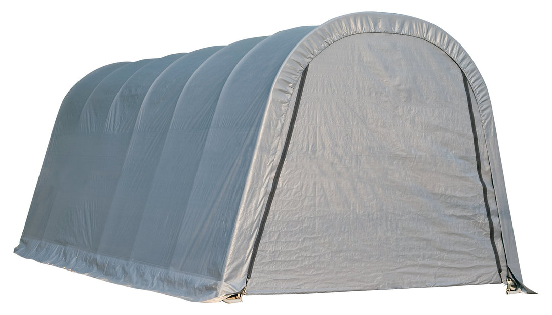 Shelter Logic Round Style Carport 12 x 24 - Covered Cars