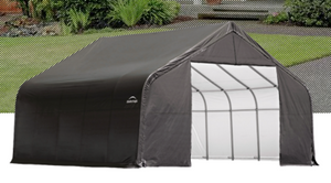 Shelter Logic Peak Style Carport 13 x 24 - Covered Cars