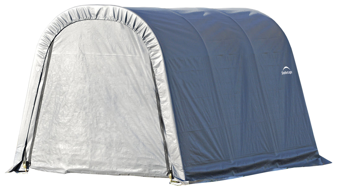 Shelter Logic Round Style Carport and Instant Garage 11 x 8 - Covered Cars