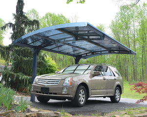 Palram Arizona Wave 5000 Carport Kit 10 x 16 - Covered Cars