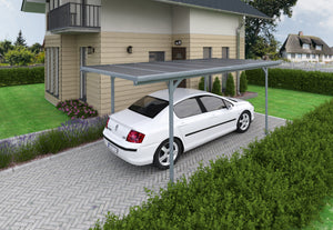 Palram Verona 5000 Carport Kit 10 x 16 - Covered Cars