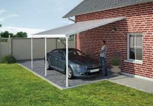 Palram Feria Carport 13 x 20 - Covered Cars