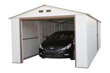 Duramax Imperial Metal Garage Kit 12 x 32 - Covered Cars