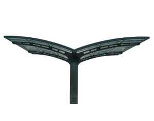 Arizona Wave Wing Style Double Carport 19 x 16 - Covered Cars