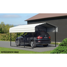 Arrow All Steel Carport and Patio Cover 10 x 29 - Covered Cars