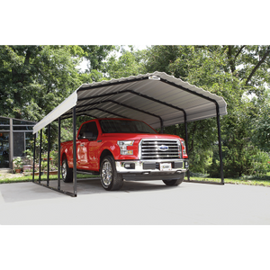 Arrow All Steel Carport and Patio Cover 12 x 20 - Covered Cars