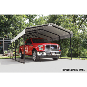 Arrow All Steel Carport and Patio Cover 12 x 24 - Covered Cars