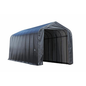 Shelter Logic Peak Style RV, Truck, and Camper Carport 16 x 36 x 16 - Covered Cars
