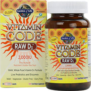 Vitamin Code Raw D3 5000 IU 60 ct Capsules