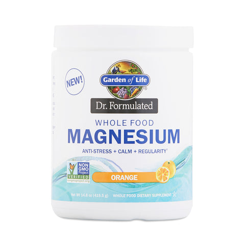 Whole Food Magnesium Powder - 14.9 oz