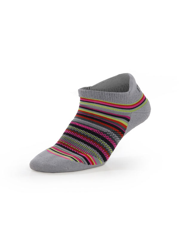 Performance Ped. Workout Sock - Ash Grey