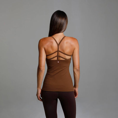 Warrior Y-Back Yoga Tank (Bronze)