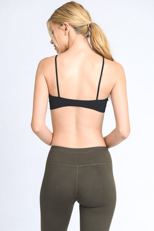 Mono B Simple Strappy Bra Top