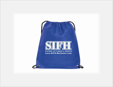 Signature Drawstring Backpack at 17.99