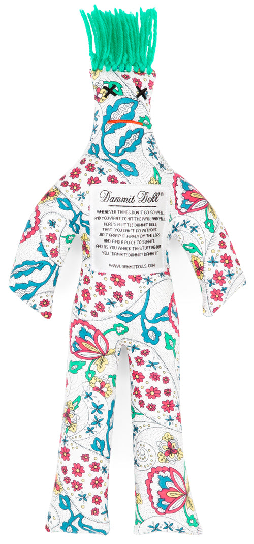 Dammit Doll COLOR ME YOURS STRESS DOLL