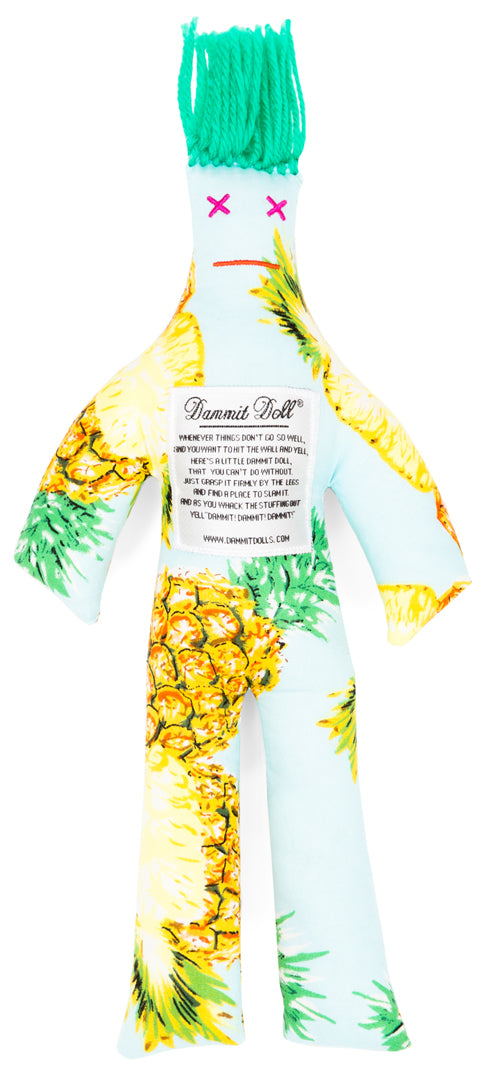 Dammit Doll Pineapple  Express Stress Doll