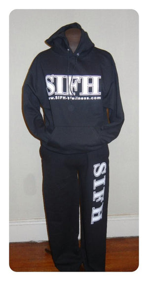 SIFH Signature Pullover Hoodie - Black