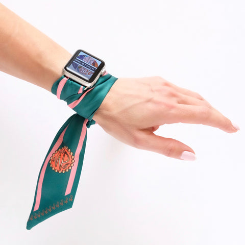 Wristpop - Green Rugby Stripe at 45.00