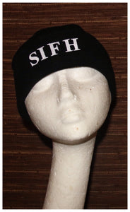 SIFH Embroidered Watchcap - Black